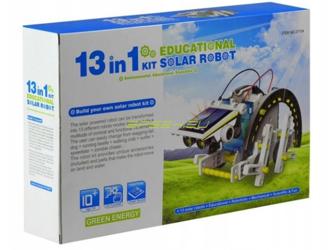 Solar robot 13w1 zestaw edukacyjny nauka i zabawa